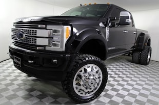 2019 Ford F-450 Platinum Lifted Truck Crew Cab