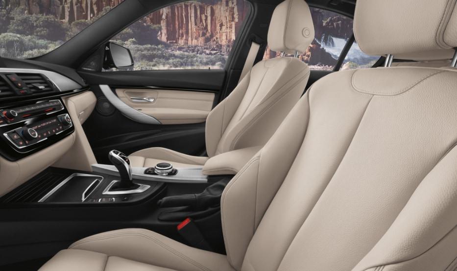 BMW 3-Series cabin