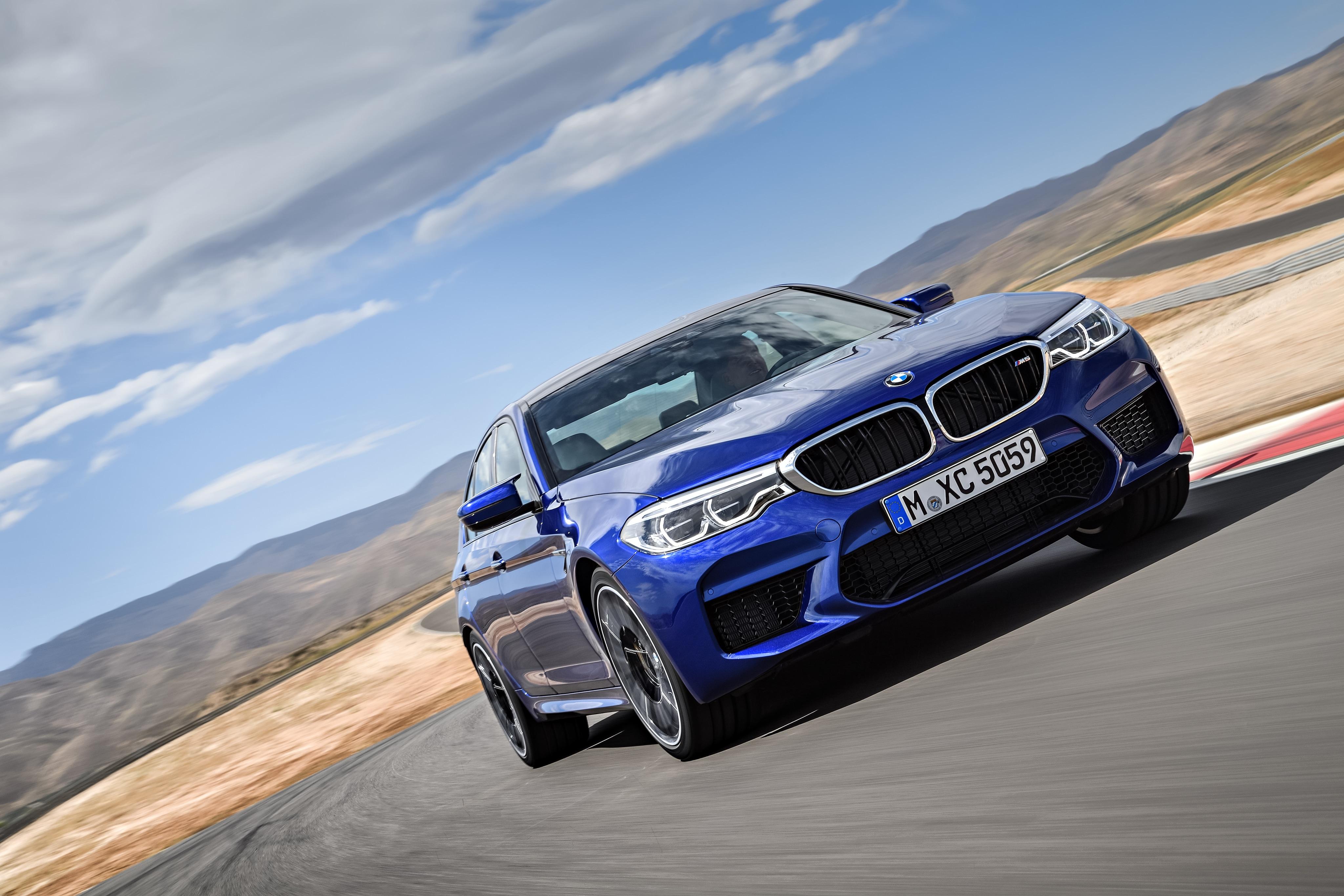 2018 BMW M5 European model