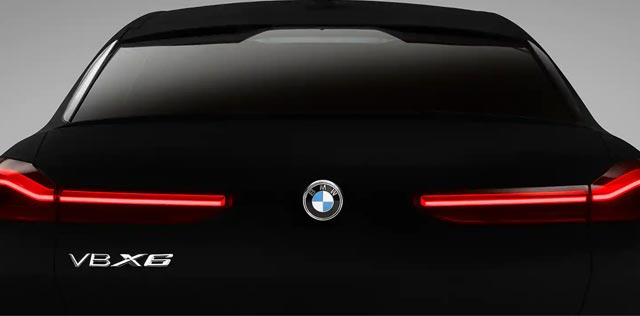 BMW Vantablack Vehicle