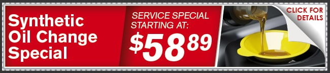 Synthetic Oil Change Coupon, Lincoln