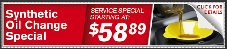 Synthetic Oil Change Special Coupon, Lincoln, NE
