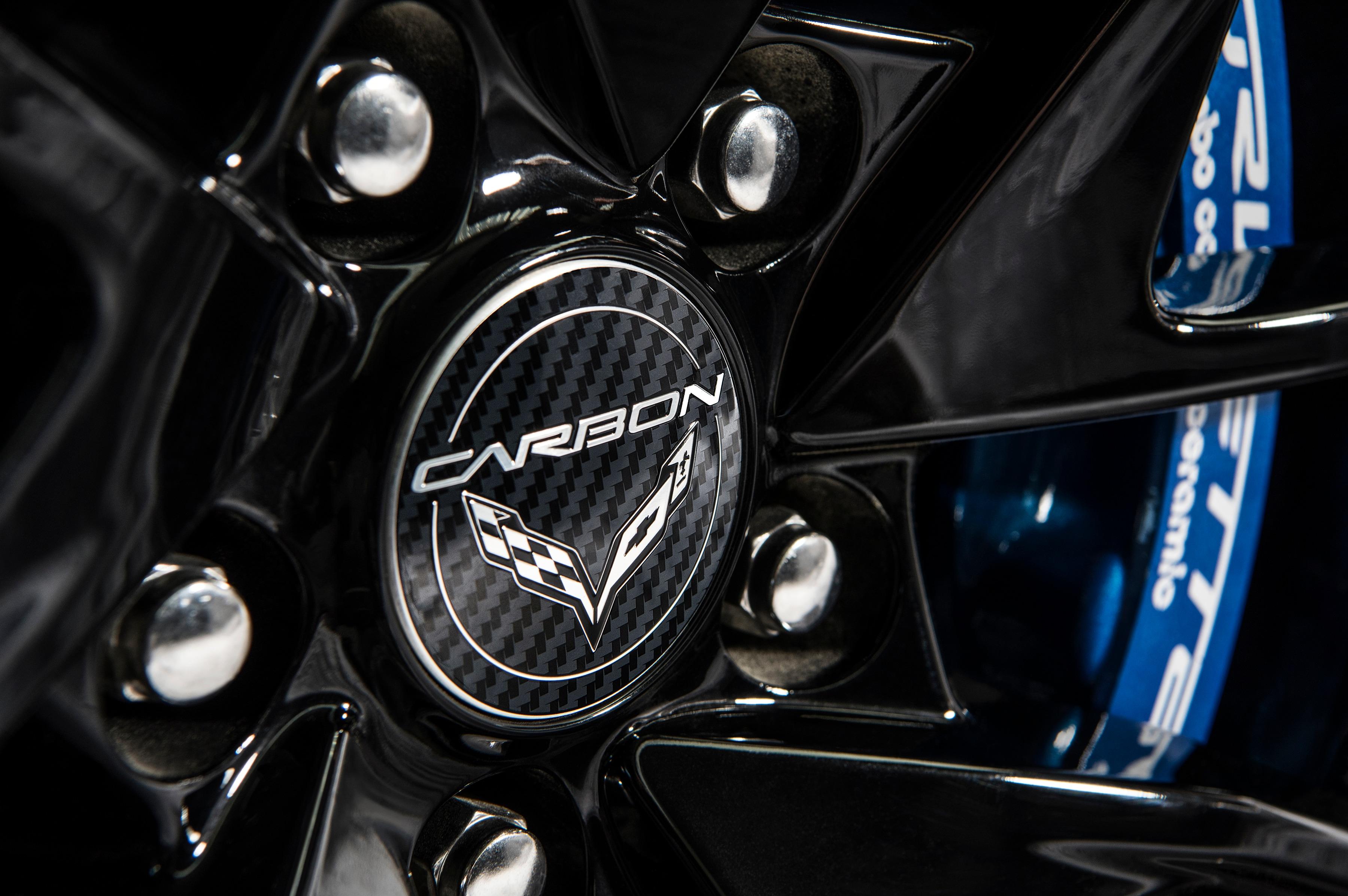 2018 Corvette Carbon 65 hood decal
