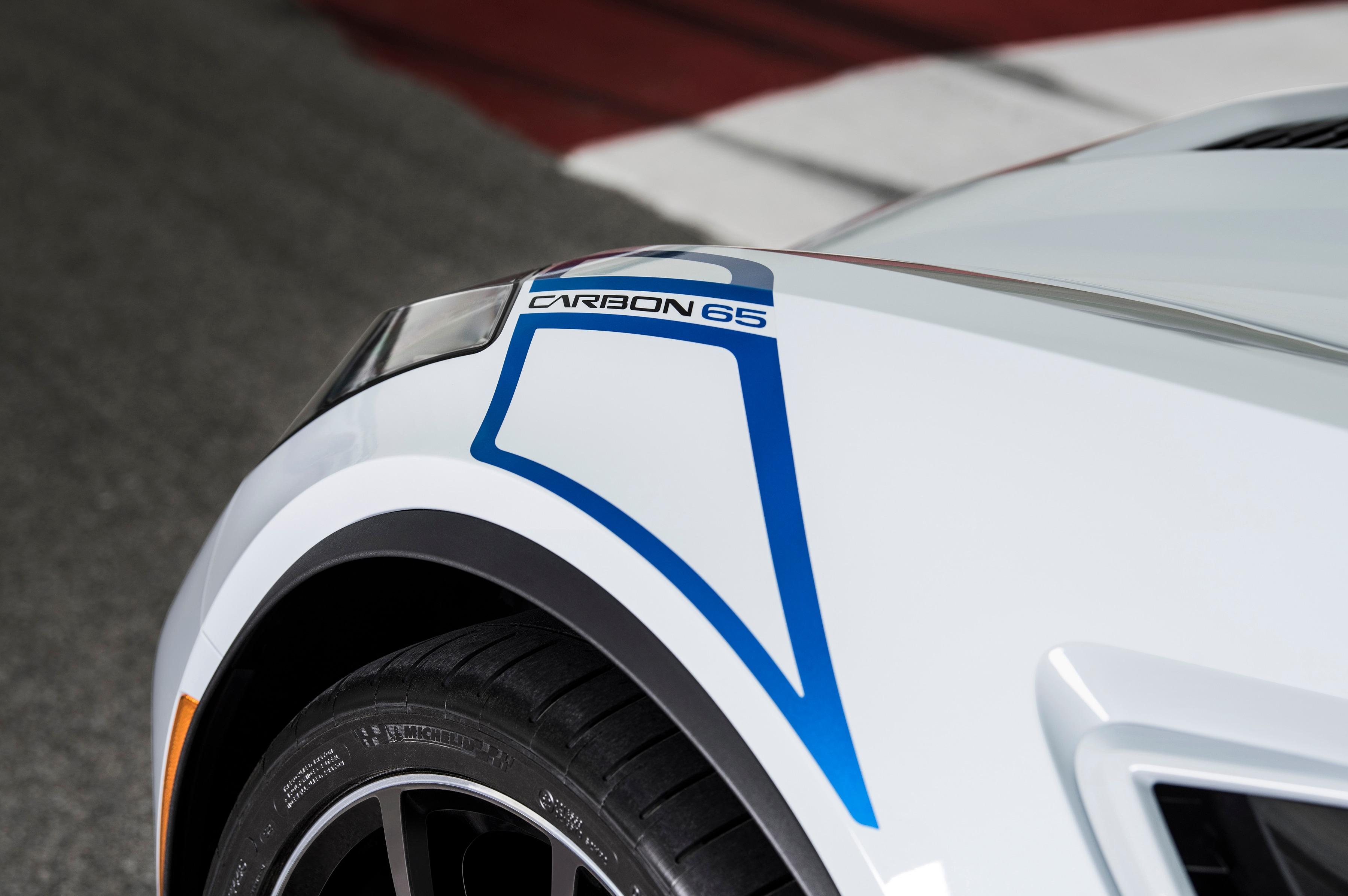 2018 Corvette Carbon 65 Edition wheel detail