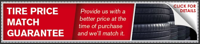 Tire Price Match Coupon, Lincoln, NE