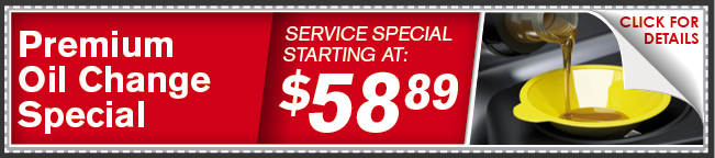 Premium Oil Change Special Coupon, Lincoln, NE