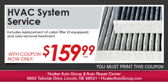 Car Odor Treatment Service Special, Lincoln, NE Automotive Service Coupon. If no image displays, the offer has ended.