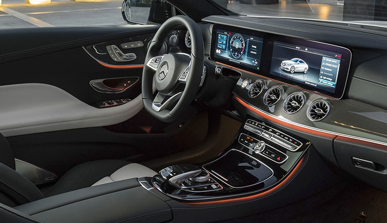 2018 Mercedes-Benz E-Class Coupe interior