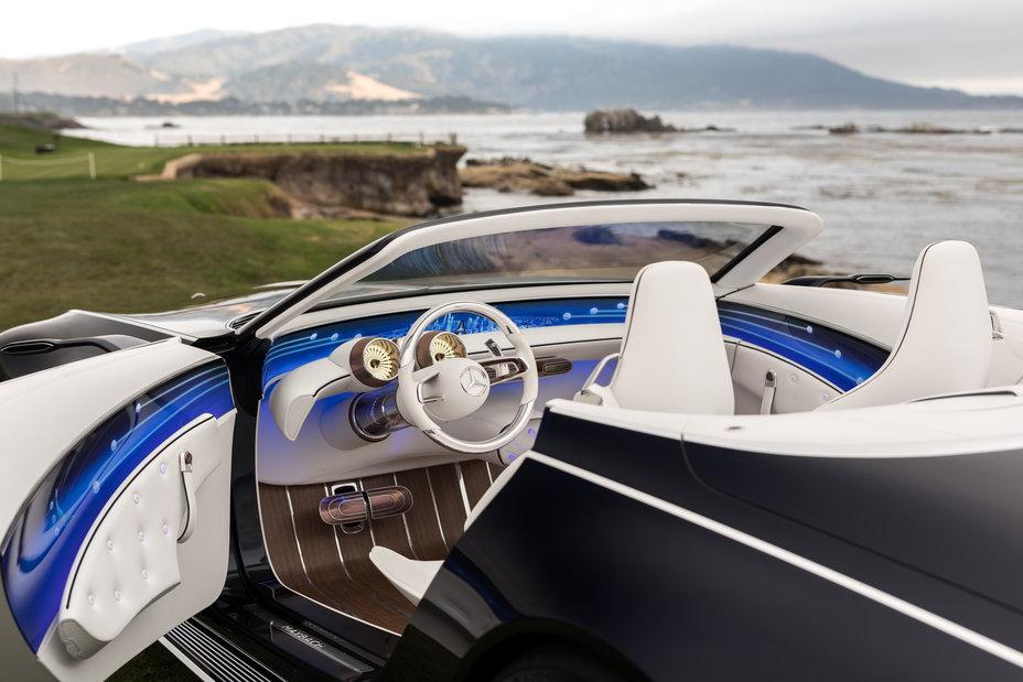Mercedes-Maybach 6 Cabriolet Concept interior