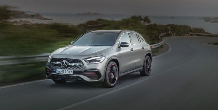 2021 Mercedes-Benz GLA and AMG GLA 35