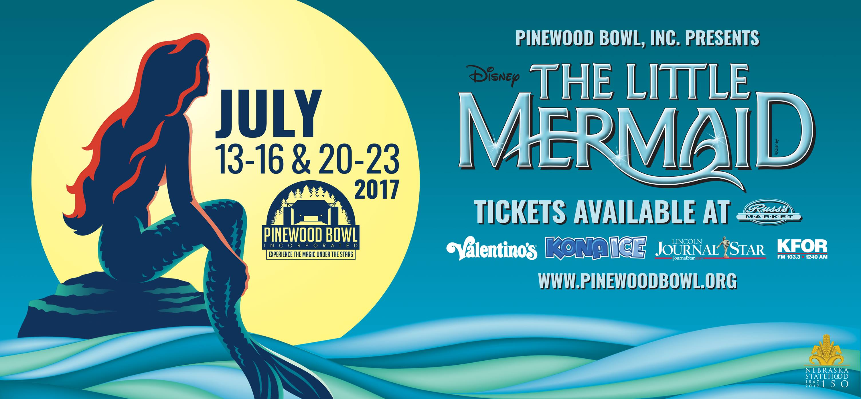 Pinewood Bowl Theater The Little Mermaid