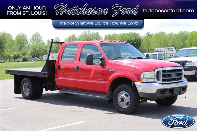 2002 Ford F-350SD Super Duty Cab/Chassis