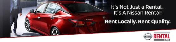 Nissan Rent A Car Program Huttig Nissan