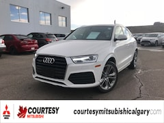 2018 Audi Q3 2.0T PROGRESSIV * HEATED LEATHER INTERIOR, PANORAM SUV