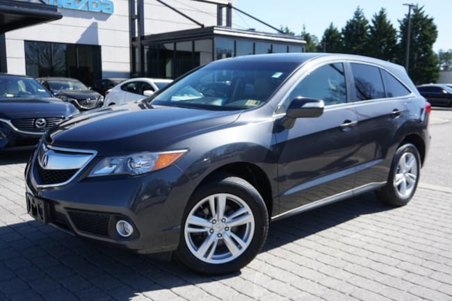 2015 Acura Rdx For Sale >> Used 2015 Acura Rdx For Sale At Hyman Bros Mazda Vin