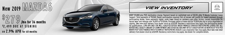 New 2019 Mazda6