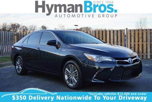 2017 used toyota camry hybrid for sale   richmond & midlothian   p27629