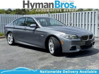 2013 BMW 535i 535i M Sport, Tech, Lux Seating, Driver Assist Sedan