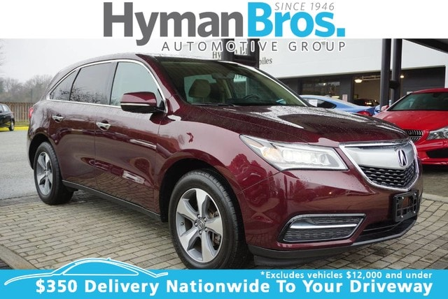 Used 2016 Acura MDX AWD For Sale Midlothian, VA | VIN# 5FRYD4H20GB057023