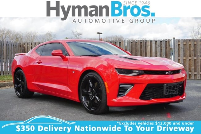 2017 Chevrolet Camaro 2SS Coupe Nav, Moonroof, Red Hot! Coupe