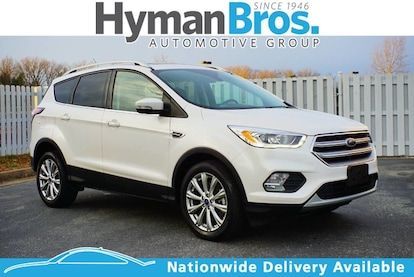 Used 2017 Ford Escape For Sale at HYMAN BROS. MITSUBISHI | VIN ...