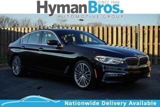 2017 BMW 540i 540i xDrive Sedan