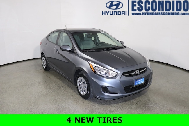 2017 Hyundai Accent SE Sedan For Sale in Escondido, CA