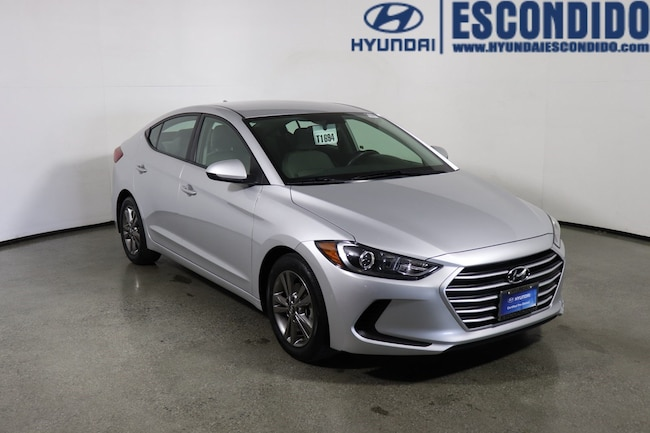 2018 Hyundai Elantra SEL Sedan For Sale in Escondido, CA