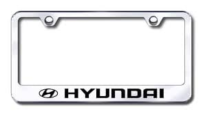 Hyundai License Plate Frames Special