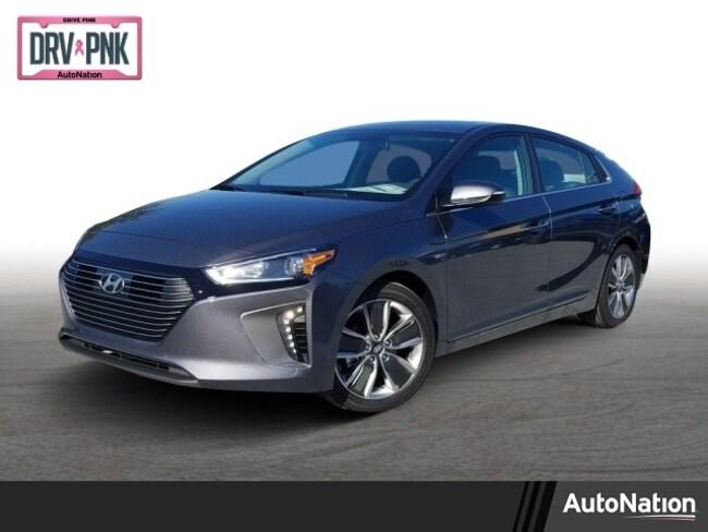 2019 Hyundai Ioniq Hybrid Limited 4dr Car
