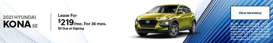 2021 Hyundai Kona SE - May