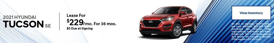 2021 Hyundai Tucson SE - May