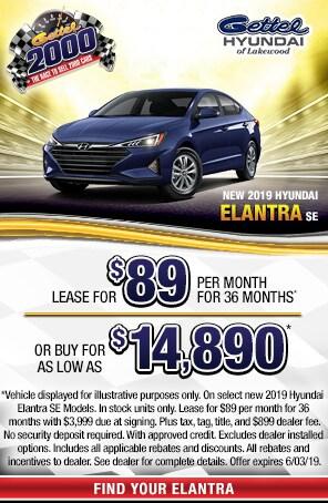 New 2019 Hyundai Elantra