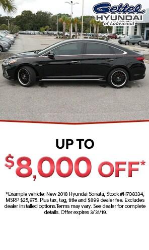 All remaining New 2018 Hyundai Sonatas Models