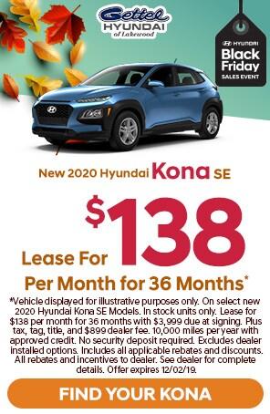 New 2020 Hyundai Kona