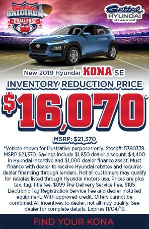 New 2019 Hyundai Kona