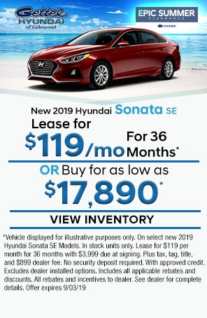 New Hyundai Sonata SE