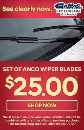 Set of ANCO Wiper Blades
