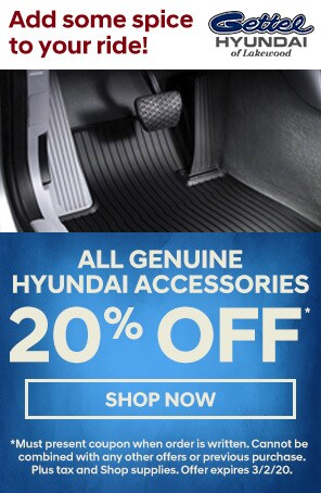 All Genuine Hyundai Accessories