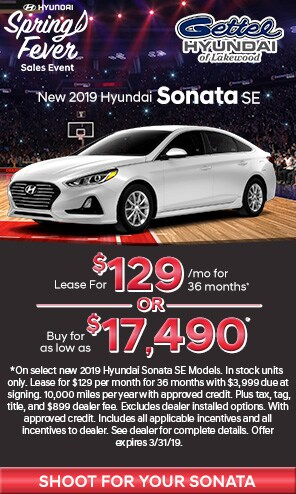 New 2019 Hyundai Sonata Models