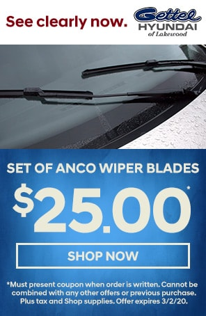 Set of ANCO Wiper Blades