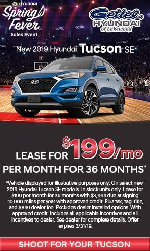 New 2019 Hyundai Tucson Models