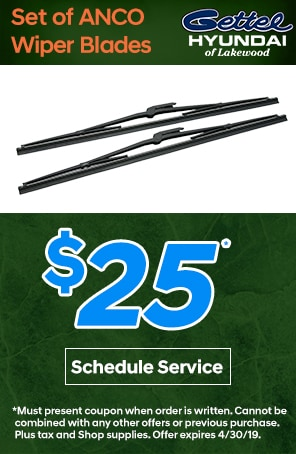 Set of ANCO Wiper Blades Special