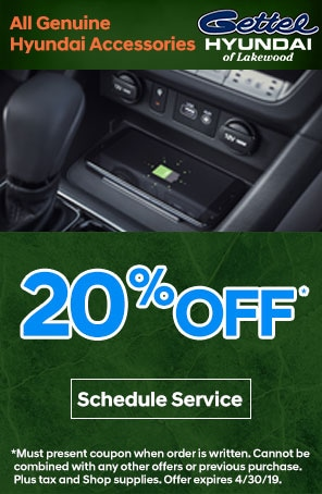 All Genuine Hyundai Accessories Special