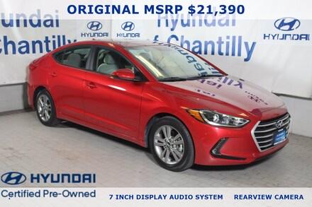 2017 Hyundai Elantra Value Edition Sedan