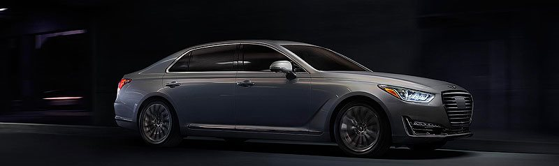 Genesis G90 Luxury Flagship Sedan