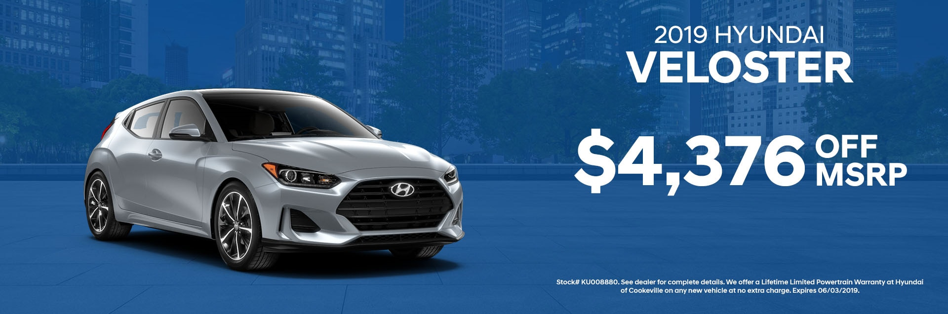 2019 Hyundai Velsoter Specials