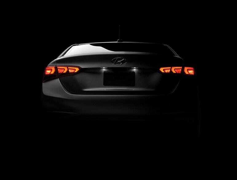 2018 Hyundai Accent Rear