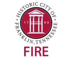 Historic City of Franklin Fire Logo