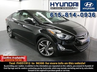 2015 Hyundai Elantra Limited Sedan